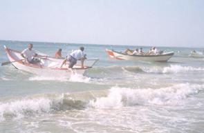 depart course Doris plage